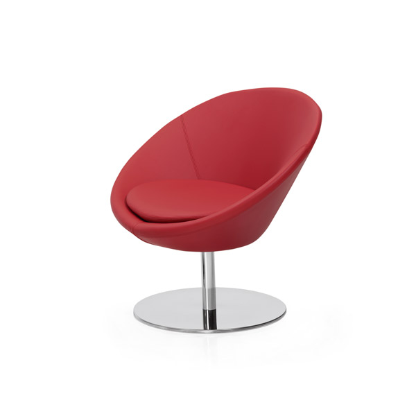 Circle lobby armchair - Onlycontract.com